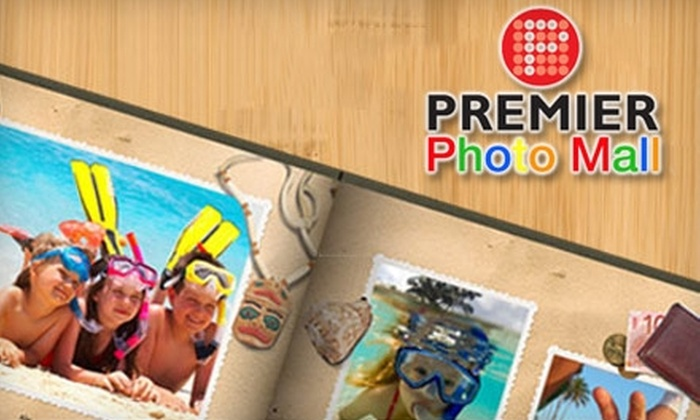 "Premier Photo Mall: $20 for a Custom 8.5""x11"" Premier Photo Book from Premier Photo Mall ($49.99 Value)"