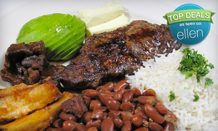 La Casa Latina - New Cassel: Authentic Latin American Lunch or Dinner Plus Appetizer Sampler at La Casa Latina in Westbury (Up to 55% Off)