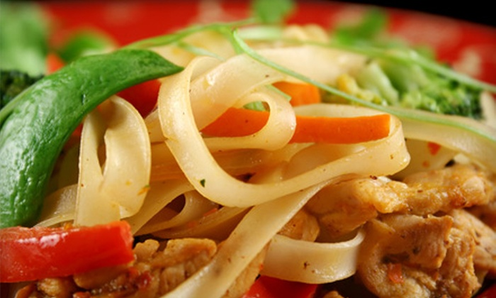 null - Scarborough: $19 for Dinner Package for Two at Chaba Thai Cuisine in Scarborough (Up to $38.85 Value)
