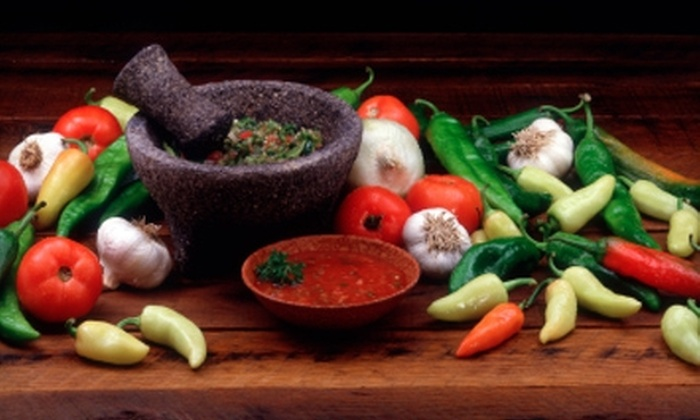 7 Salsas - Multiple Locations: $7 for $15 Worth of Mexican Fare and Nonalcoholic Drinks at 7 Salsas