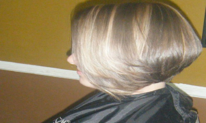 Inspired Hair by Omeka - Oakwood: Haircut, Highlights, and Style from Inspired Hair by Omeka (43% Off)