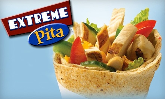 Extreme Pita - North San Jose: Healthy, Flavorful Fare at Extreme Pita. Choose from 2 Options.