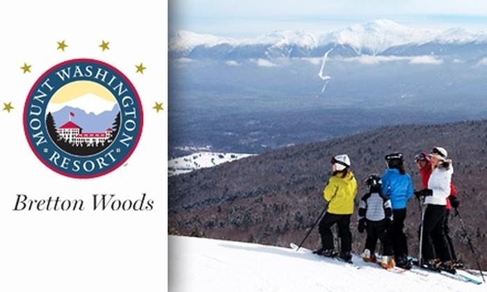 Bretton Woods Ski Area - Boston: $45 for Lift Ticket at Bretton Woods Ski Area ($74 Value)