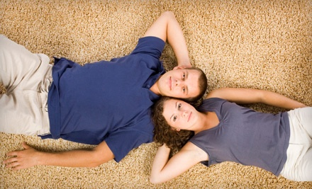 Carpet Cleaning for 2 Rooms, Totaling Up to 500 Sq. Ft. (a $128 value) - The Burns Clean Team in