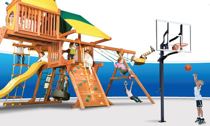 Superior Play Systems' - Multiple Locations: Children's Play Passes or Children's Party at Superior Play Systems (Up to 64% Off). Three Options Available.