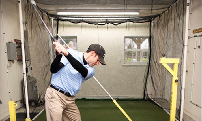 Mark Weghorst Golf Academy - Zionsville: $70 for Two Private One-Hour Golf Lessons from Mark Weghorst at Zionsville Golf Practice Center ($140 Value)