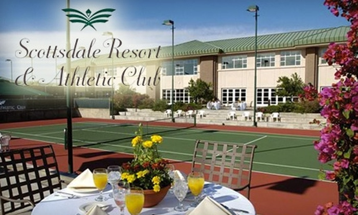 Scottsdale Resort and Athletic Club - South Scottsdale: $40 for One-Hour Private Tennis Lesson at Scottsdale Resort and Athletic Club (Up to $80 Value)