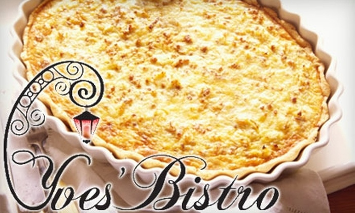 Yves' Bistro - Eisenhower East - Carlyle District: $15 for $30 Worth of French Cuisine at Yves' Bistro in Alexandria