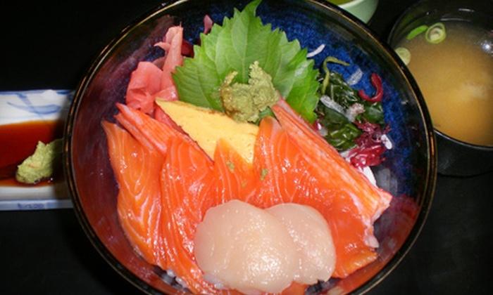 Taki Japanese Restaurant - Niagara Falls: Sushi Dinner for Two or Four at Taki Japanese Restaurant (Up to 67% Off)