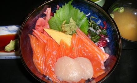 Dinner for 2 - Taki Japanese Restaurant in Niagara Falls