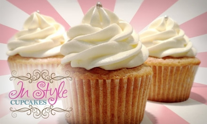 In Syle Cupcakes - Miami: $9 for Choice of Twelve Mini or Six Regular Cupcakes from In Style Cupcakes (Up to $19.50 Value)