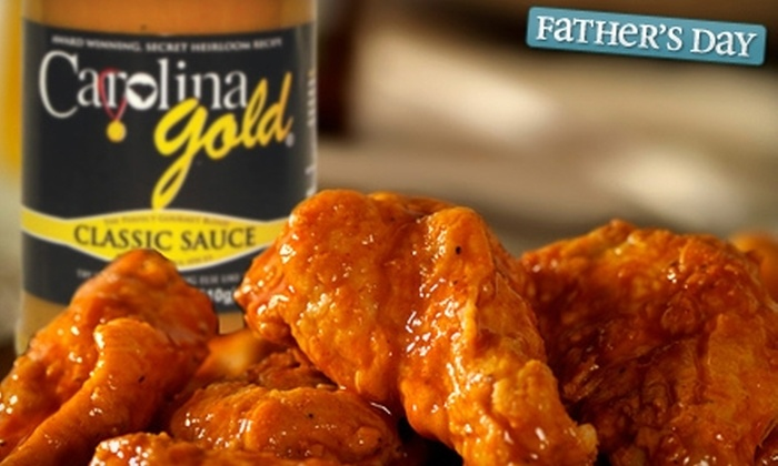Carolina Gold: $10 for a Four-Flavor Gift Box of Gourmet Barbecue Sauces from Carolina Gold ($19.94 Value)