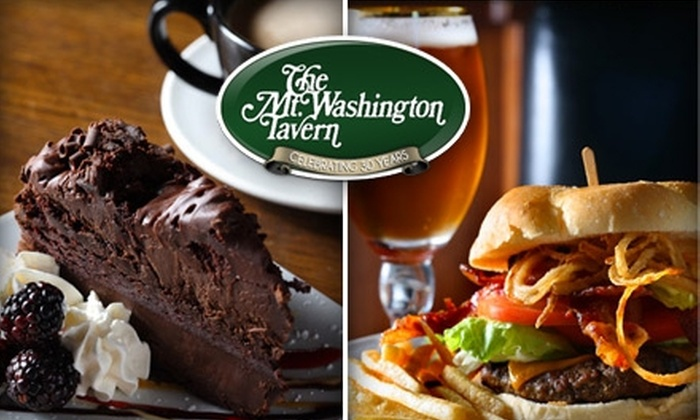 Mt. Washington Tavern - Mt. Washington: $15 for $30 Worth of Steak, Salads, and Casual Fare at Mt. Washington Tavern