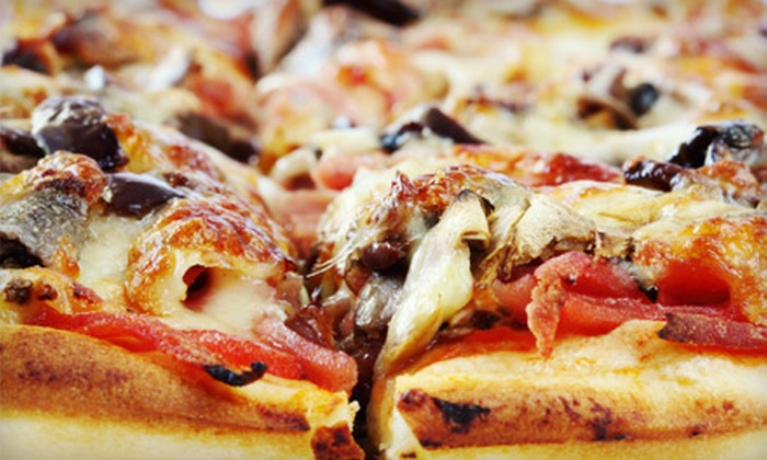 Pizza Days - Multiple Locations: Oven-Baked Pizza and Italian Fare at Pizza Days. Two Options Available.