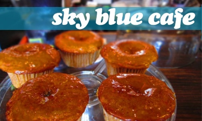 Sky Blue Cafe - Historic Edgefield: $10 for $20 Worth of Cafe Fare and Drinks at Sky Blue Cafe