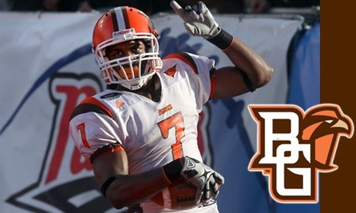 Bowling Green Falcons Football - Bowling Green: $6 for a Ticket to a Bowling Green Falcons Football Game. Choose from Two Games (Up to a $16 Value).