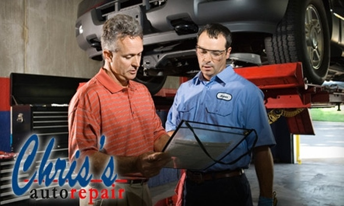 Chris's Auto Repair - Jacobsville: $25 for Two Oil Changes and a Tire Rotation at Chris's Auto Repair ($65 Value)
