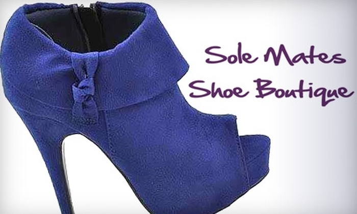 Sole Mates Shoe Boutique - Downtown Tulsa: $15 for $30 Worth of Women's Shoes and Accessories at Sole Mates Shoe Boutique
