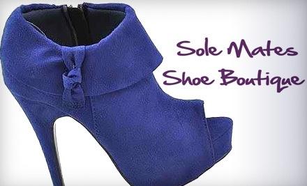 $30 Groupon to Sole Mates Shoe Boutique - Sole Mates Shoe Boutique in Tulsa