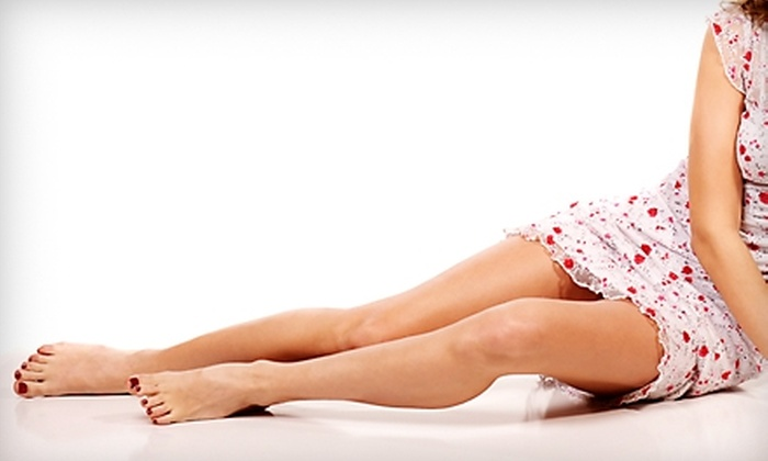 Nu Age Med Spa - Riverwoods: $389 for Up to Five Laser Spider-Vein Removal Treatments at Nu Age Med Spa in Riverwoods