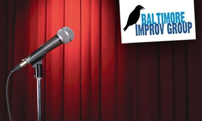 """Baltimore Improv Group - Brewer's Hill: $15 for Two Tickets to Baltimore Improv Group's """"Body Painting Improv Party"""" on January 22 ($30 Value)"""