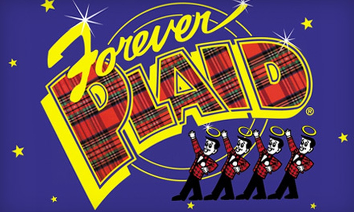 """Merrimack Hall Performing Arts Center - Huntsville: Two Tickets to """"Forever Plaid"""" or """"Motherhood the Musical"""" at the Merrimack Hall Performing Arts Center. Six Options Available."""