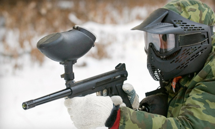 SplatBrothers Paintball Park - Brandon: $19 for Paintball Outing with Equipment Rental and Paint at SplatBrothers Paintball Park in Hopewell ($39.95 Value)