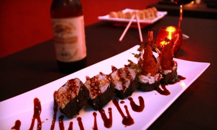Hamemrhead Sushi - Fort Worth: $12 for $25 Toward Asian-Fusion Dinner Fare or $7 for $15 Toward Lunch at Hammerhead Sushi