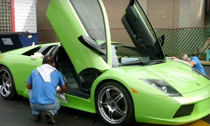 Nature's Hand Car Wash - Chicago: $35 for an Express Exterior Detail at Nature's Hand Car Wash in Morton Grove (Up to $80 Value)