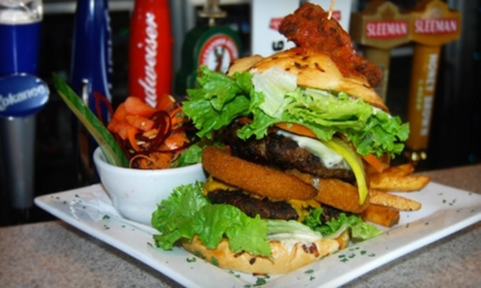 Bleue Coyote Bar and Grill - Brentwood Bay: $10 for $20 Worth of Barbecue, Burgers, and Drinks at Bleue Coyote Bar and Grill