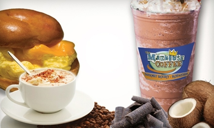 The Madhouse Coffee - Multiple Locations: $10 for $20 Gift Card Good for Coffee and Bakery Fare at The MadHouse Coffee, Gourmet Bakery and Sandwiches