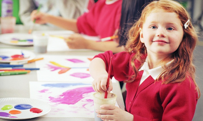 Pintapaint - Las Colinas: One Week of Kids' Painting Summer Camp at Pintapaint (Half Off). 10 Sessions Available.