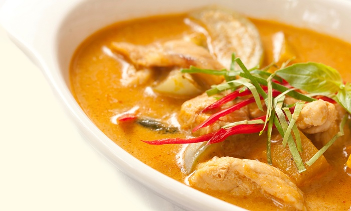 Papaya Thai - Newark: Thai Food at Papaya Thai (Half Off). Two Options Available.