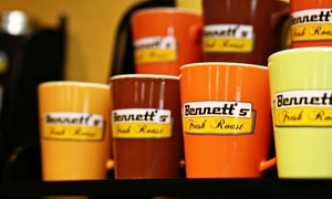 Bennett's Fresh Roast: Coffee, Donuts, and Sandwiches at Bennett's Fresh Roast (Up to 40% Off). Two Options Available.