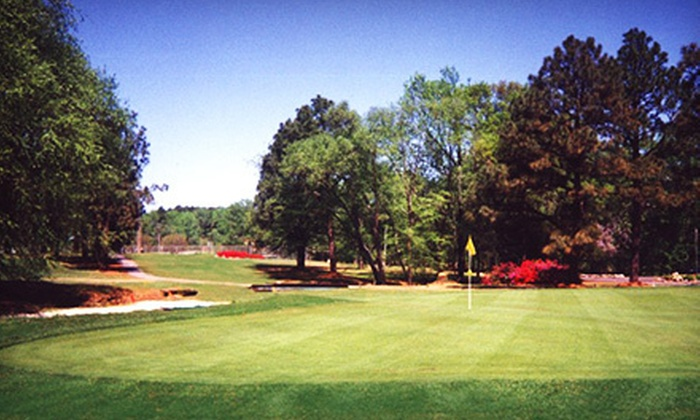 Willow Springs Country Club - Wilson: 18 Holes on Weekday or Weekend with Cart and Range Balls for One or Four at Willow Springs Country Club (Up to 56% Off)
