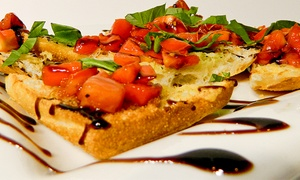Gianna Via: $22 for $40 Worth of Italian Food at Gianna Via's Restaurant & Bar