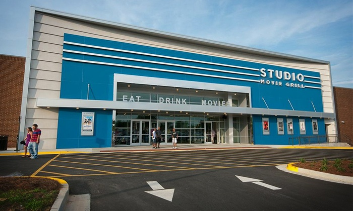Studio Movie Grill - Multiple Locations: Movie Outing with a Ticket at Studio Movie Grill (Up to 45% Off)