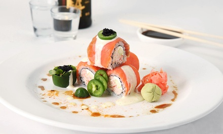 $35 for $60 Worth of Sushi and Japanese Food at Drunken Fish