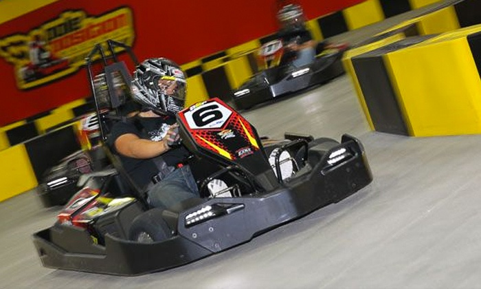Pole Position Raceway - Southbelt/ Ellington: Three Drop-In Races or Annual Membership Packages at Pole Position Raceway (Up to 51% Off). Four Options Available.
