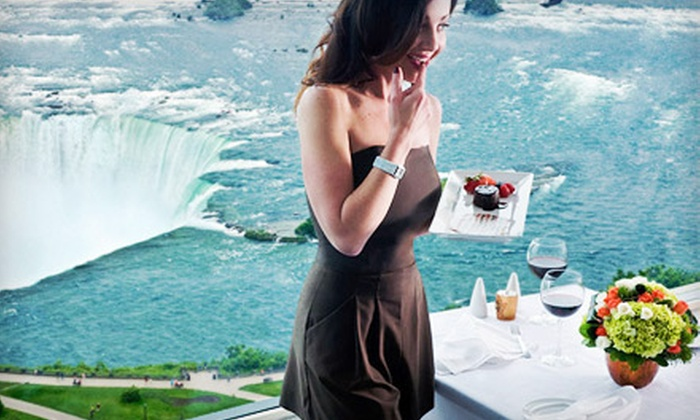 Pinnacle Restaurant - Niagara Falls: $36 for Upscale Dinner for Two with Appetizer and Entrees at Pinnacle Restaurant (Up to $72 Value)