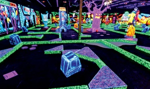 Monster Mini Golf: $18 for Four Rounds of Indoor Miniature Golf at Monster Mini Golf (Up to $39.96 Value)