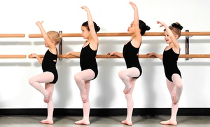 Summers Academy of Dance: One Month of Dance Classes (4 per child) for One or Two Children at Summers Academy of Dance (Up to 60% Off)