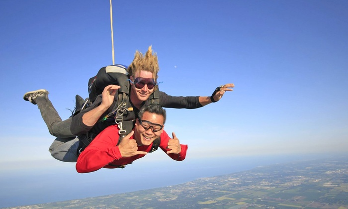 Skydive Midwest - Sturtevant: $159 for a Tandem Jump from Skydive Midwest (Up to $229 Value)