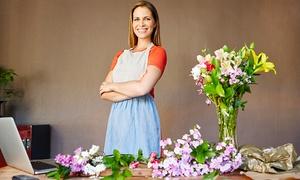 De Fleur: סדנת שזירת פרחים ליחיד בסטודיו לפרחים DE FLEUR, ב-59 ₪ בלבד