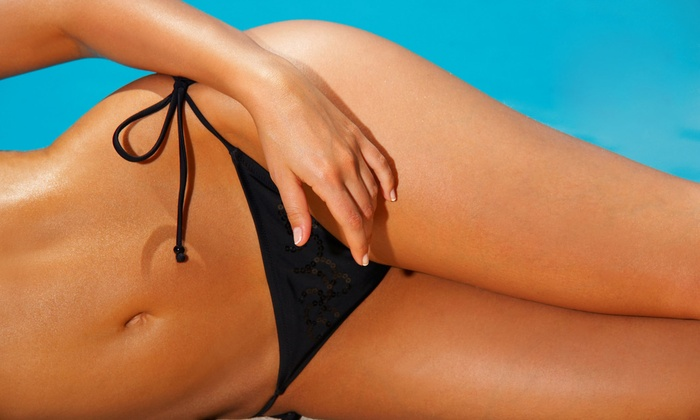 Celebrity Tanning - Multiple Locations: One Month of Unlimited UV Tanning or Three Mystic Spray Tans at Celebrity Tanning (Up to 51% Off)