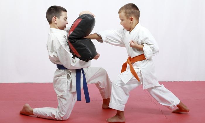 Goshin-Ryu Martial Arts & Fitness Studio - East Williamsburg: $30 for a Month Kids' Classes at Goshin-Ryu Martial Arts & Fitness Studio($120 Value)