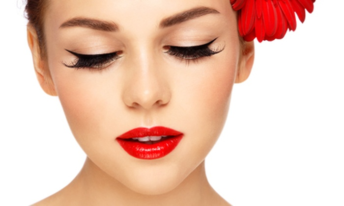 Flawless Permanent Cosmetics - Chesterfield: Permanent Upper and Lower Eyeliner Application with Optional Touchup at Flawless Permanent Cosmetics (Up to 67% Off)