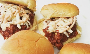 Holy Cow Pop Up: $20 for $37.50 Worth of Barn Box Sliders from Holy Cow Pop Up