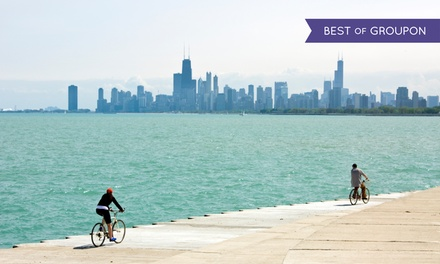 $35 for a Bike and Yoga Tour for One from Bike and Roll Chicago ($60 Value)
