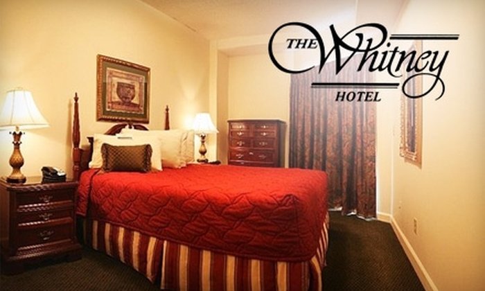 The Whitney Hotel - Old Shandon: $54 for a One-Night Stay in a One-Bedroom Suite at The Whitney Hotel (Up to $109 Value)